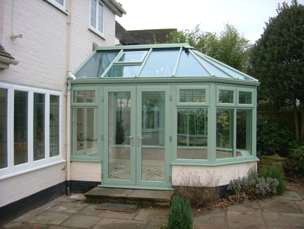 Conservatories teamframes for Adding a conservatory