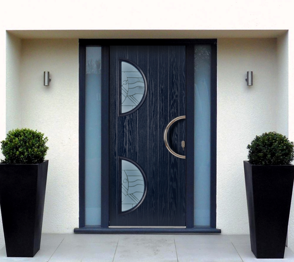Wl contemporary door copy for Composite front doors