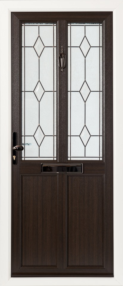 "Oak Doors With Windows : Dark brown oak doors and windows "" new colour mooreiche"