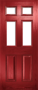 Red Composite Doors