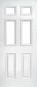 White Composite Doors