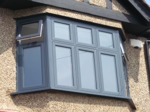 Timber Effect PVCu Windows - FlushSASH