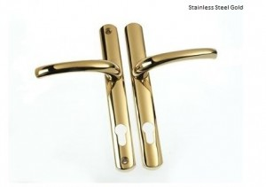 Stainless Gold Handle