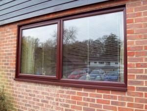 Woodgrain Window