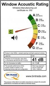 41 dB Certificate